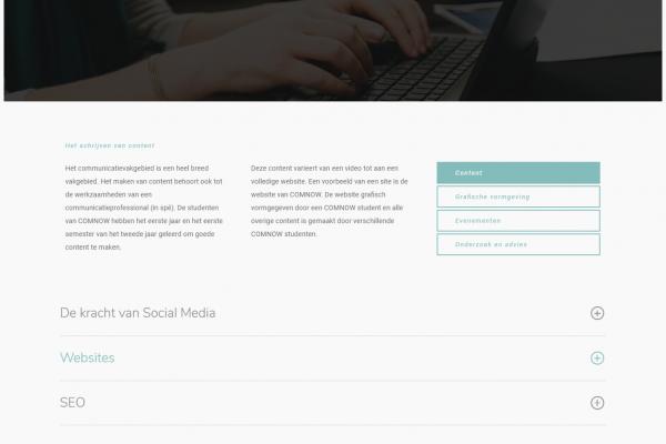 16. Verschillende diensten - content